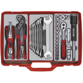 Coffre à outils complet 31pcs Teng Tools TC303