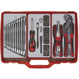 Coffre à outils complet 90pcs  Teng Tools TC305