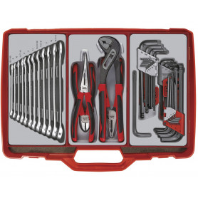 Coffre à outils complet 44 pcs Teng Tools TC306
