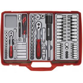 Coffre à outils complet 89 pcs  Teng Tools TC307