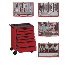 Servante d'atelier complète 188pcs Teng Tools Master Toolset 188