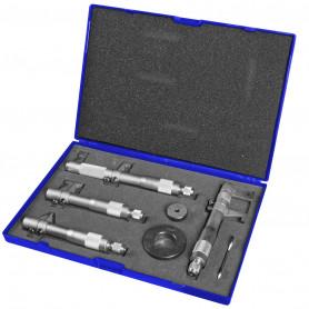 Jeu de micromètres d'intérieur 5 - 100 mm analogique 7 pcs MW-Tools BSMS4100