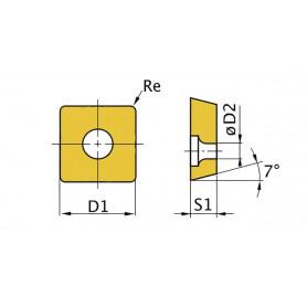 Plaquettes OptiTurn SNMG150608