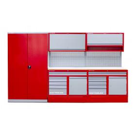 Mobilier atelier 3,3 mètres avec grande armoire MW-Tools PRACO4