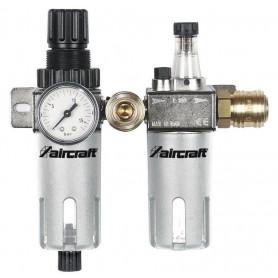 """Filtre / régulateur de pression + lubrificateur 1/4"""" - 1/2"""" Aircraft WE AC"""
