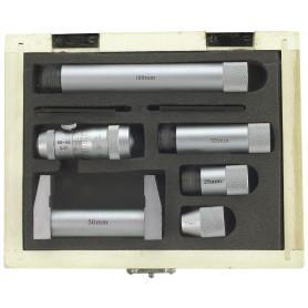 Set de micromètres d'intérieur 50-600mm et des rallonges Limit MMSS600
