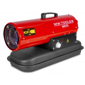 Canon à chaleur fioul 20 kW MW-Tools WD70