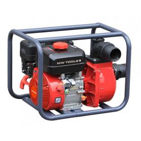 """Pompe à eau haute pression moteur essence 7 CH 212cm3 raccord 3"""" MW-Tools WP4800"""
