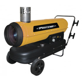 Outlet: Emballage d'origine manquant ou abîmé.: Canon à chaleur au fioul avec évacuation du gaz 575 m³ 30 kW
