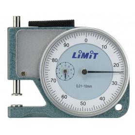 Jauge depaisseur à cadran 10 mm modèle poche Limit DMPOCK