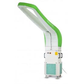 Station de purification et filtration mobile HEPA ponçage et peinture 1,5kW MW-Tools MSA3000