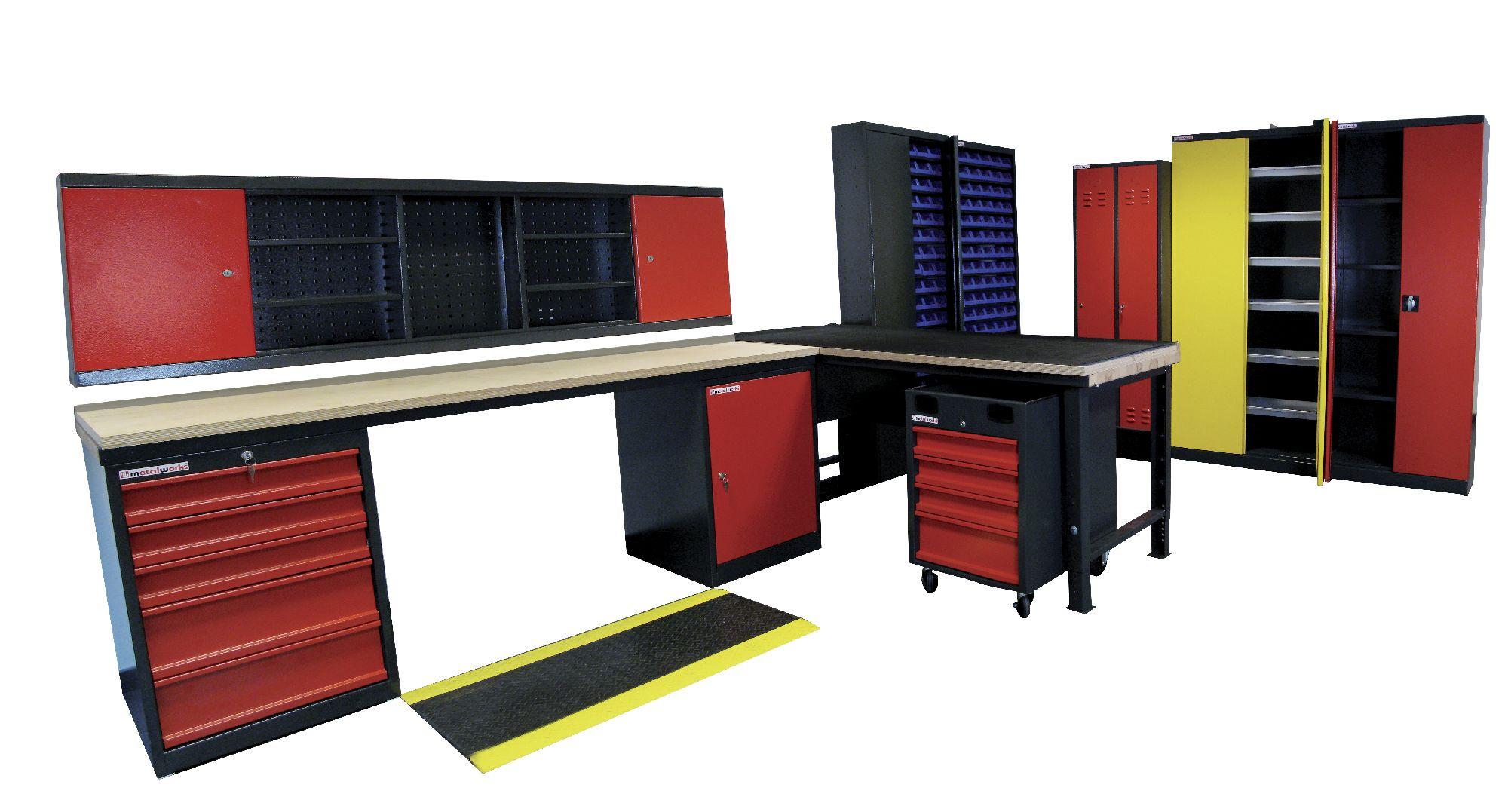 servante d 39 atelier 4 tiroirs armoire tiroirs mobilier d 39 atelier servante vide. Black Bedroom Furniture Sets. Home Design Ideas