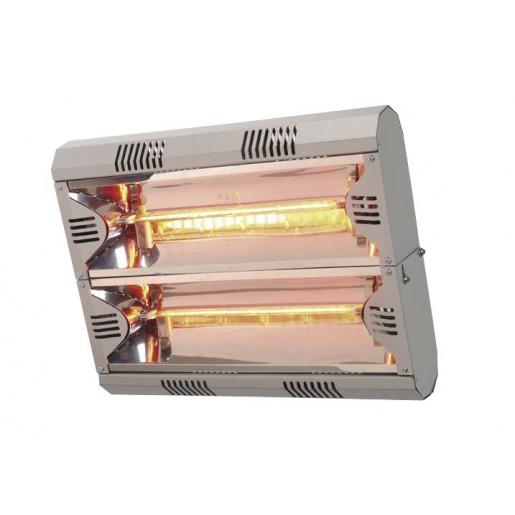 chauffage infrarouge lectrique 12 16m 4kw chauffage electrique chauffage ventilation. Black Bedroom Furniture Sets. Home Design Ideas