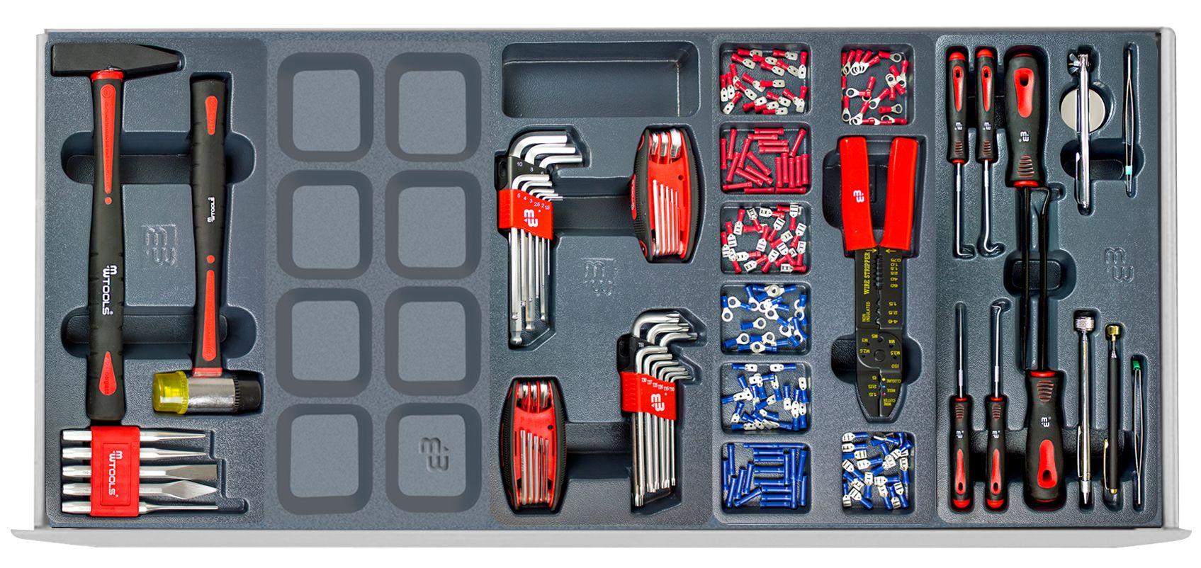 servante d 39 atelier compl te extra large 690 outils. Black Bedroom Furniture Sets. Home Design Ideas
