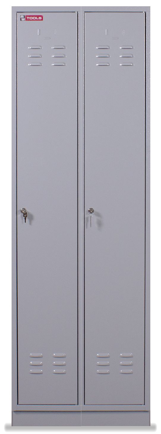 Fabuleux Vestiaire métallique 2 portes | Vestiaire | Armoire de rangement  SY33
