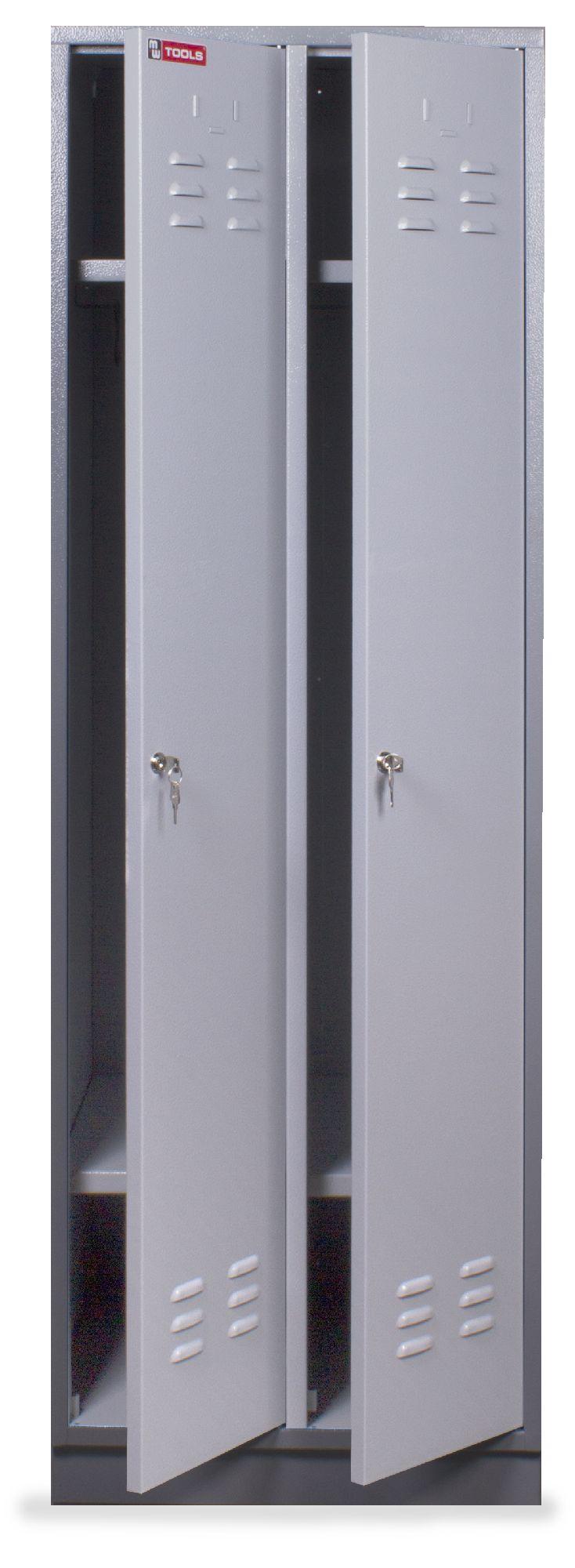 Vestiaire m tallique 2 portes vestiaire armoire de for Armoire metallique 2 portes
