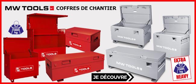 Coffres de chantier métal MW-TOOLS