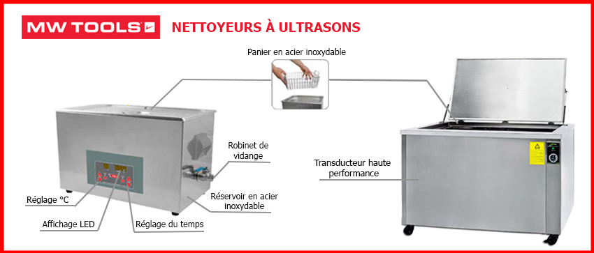 Nettoyeurs ultrasons