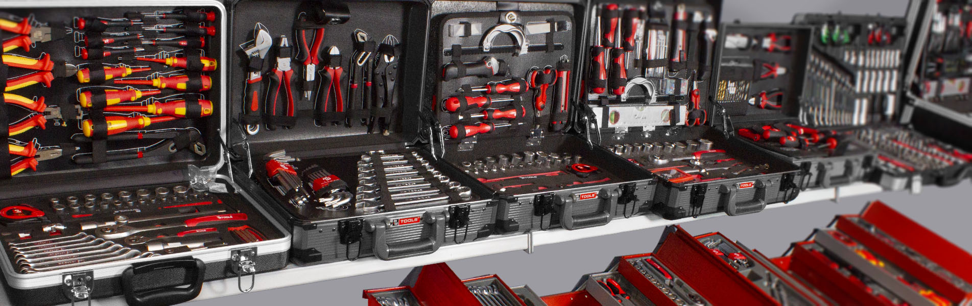 Coffres d'outils complets MW-TOOLS