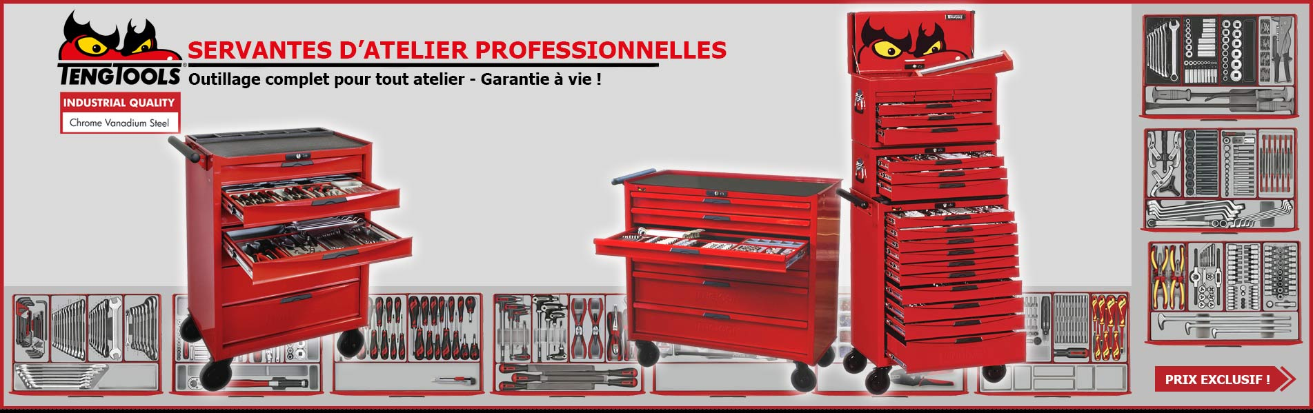 Servantes outillages Teng Tools